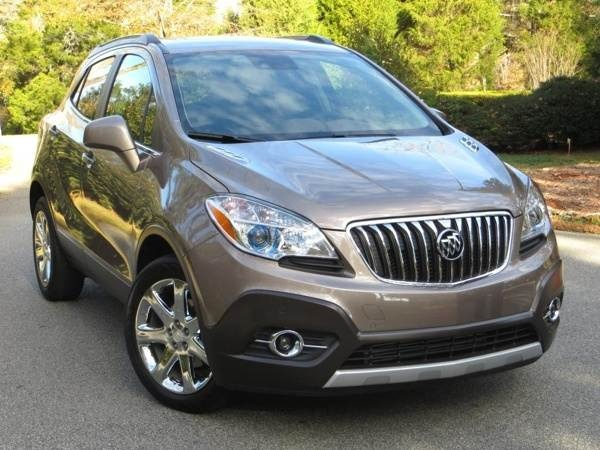 2013 buick encore first drive review kelley blue book. Black Bedroom Furniture Sets. Home Design Ideas