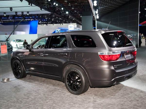 2013 Dodge Durango Rt Is A Blue Car For