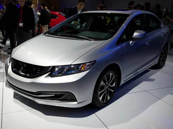 Revealed 2013 Honda Civic  LA 2012  Kelley Blue Book