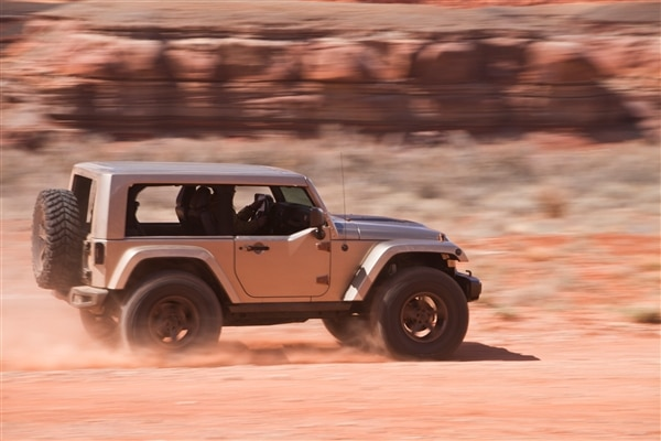 6 Jeep Concepts Get Dirty At The 2013 Moab Jeep Easter