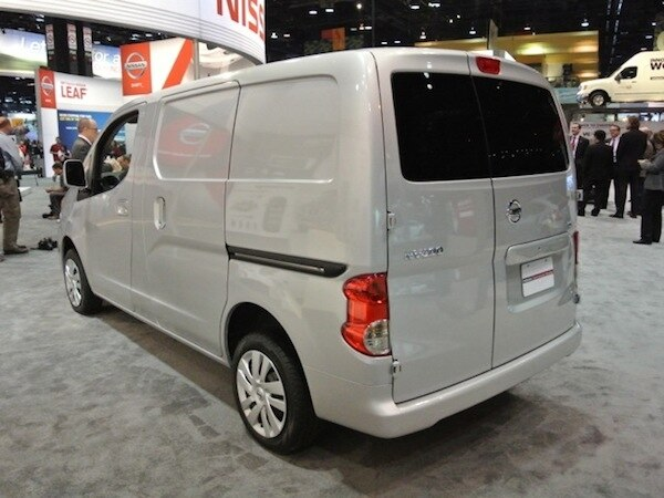Revealed 2013 Nissan Nv200 Compact Cargo Van Chicago 2013