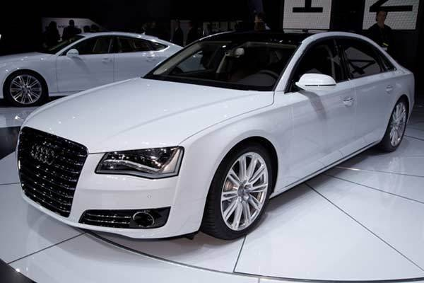 2014 Audi A6/A7/A8/Q5 models add TDI clean-diesel option - LA 2012 - Kelley Blue Book