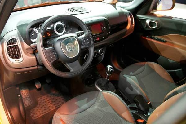 Revealed 2014 Fiat 500l 500l Trekking La 2012 Kelley