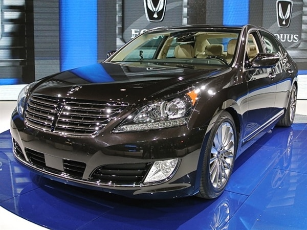 Superior Hyundai Equus Enhanced For 2014   New York 2013