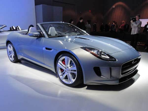 2014 Jaguar F-Type - LA 2012