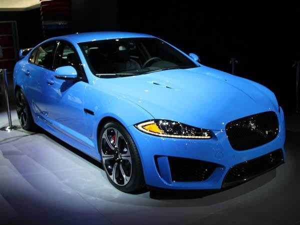 Jaguar cars blue - photo#4