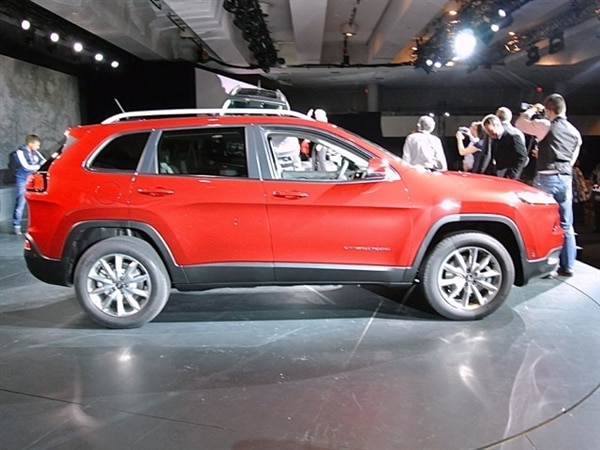 Revealed: 2014 Jeep Cherokee - New York 2013 2