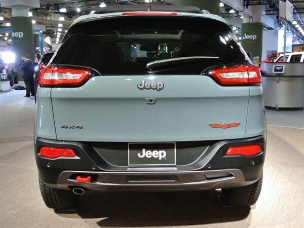 Revealed: 2014 Jeep Cherokee - New York 2013 10