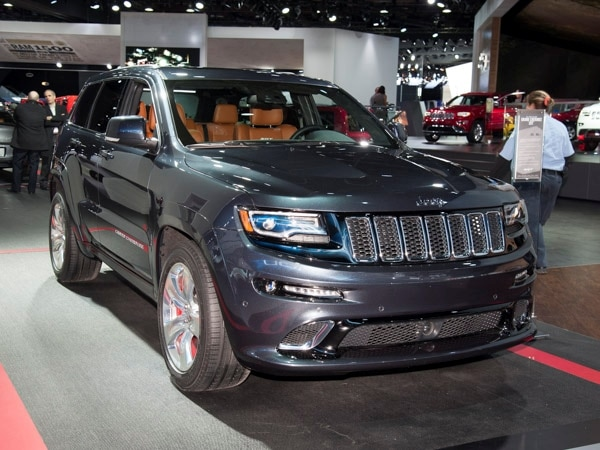 Great Taking Full Advantage Of The Enhancement Efforts Wrought Upon Its  Less Intense Siblings, The 2014 Jeep Grand Cherokee SRT Amps Up Its  Performance Persona In ...