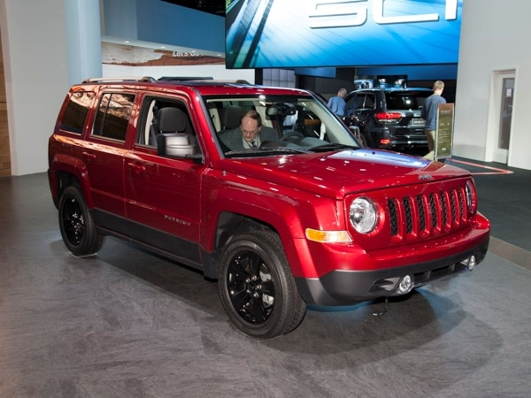 Revealed: 2014 Jeep Patriot   Detroit 2013