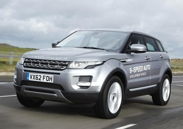 2014 Land Rover Evoque Will Get 9 Speed Automatic
