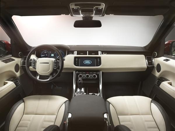 Revealed: 2014 Land Rover Range Rover Sport - New York 2013 25