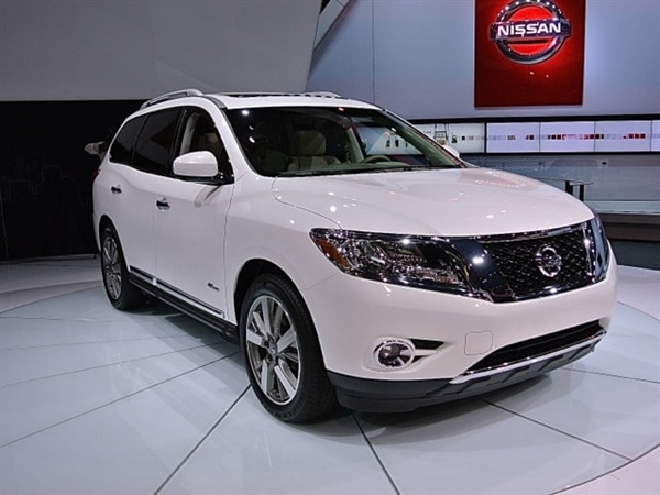2014 Nissan Pathfinder Hybrid New York 2013 Kelley Blue Book