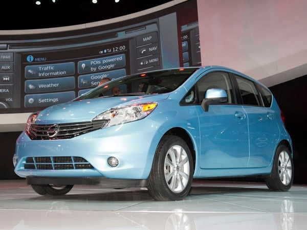 High Quality Revealed: 2014 Nissan Versa Note   Detroit 2013