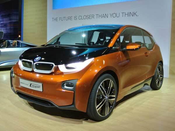 Revealed: BMW i3 Concept Coupe - LA 2012 | Kelley Blue Book