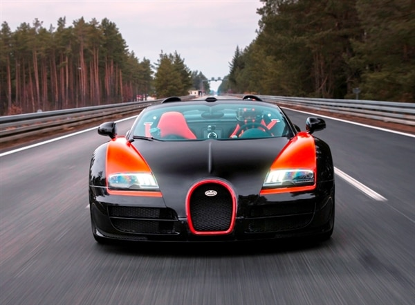 Bugatti Veyron Grand Sport Vitesse Is World S Fastest