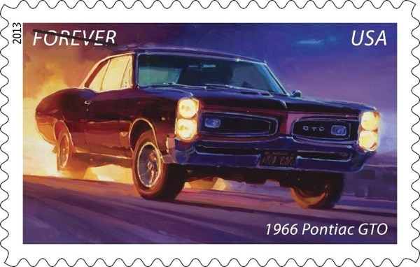 Classic Car  Forever Stamps