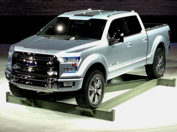 Ford Atlas Concept Hints At 2015 F 150 Detroit 2013 Kelley Blue Book