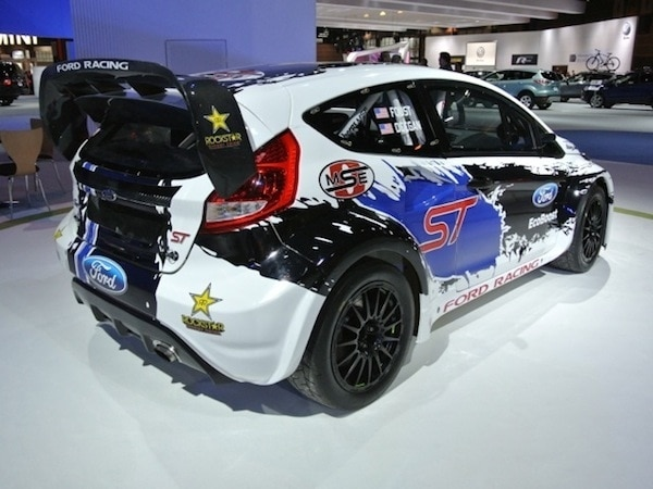 Revealed Ford Fiesta St Grc Race Car Chicago 2013