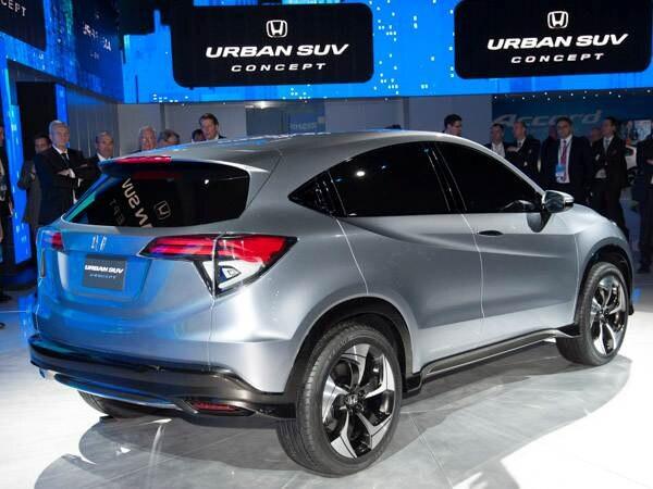 Revealed: Honda Urban SUV Concept - Detroit 2013 - Kelley ...