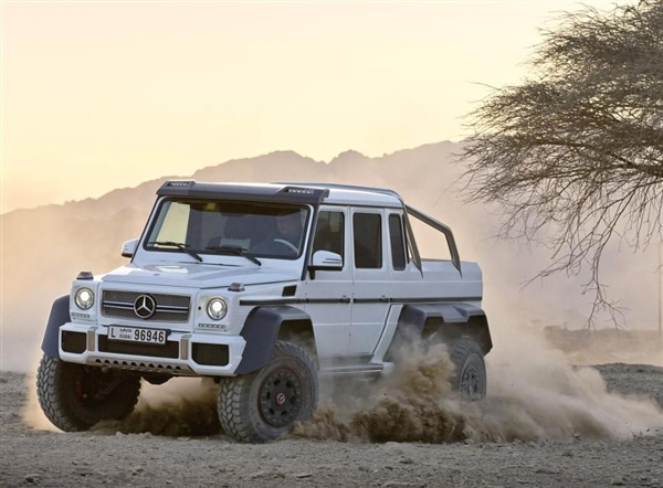 Mercedes benz g63 amg 6x6 is the ultimate off road rager for How much is a mercedes benz g63