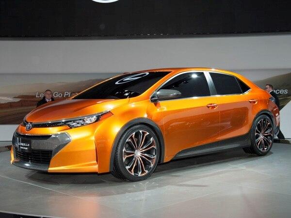 Revealed Toyota Corolla Furia Concept Detroit 2013