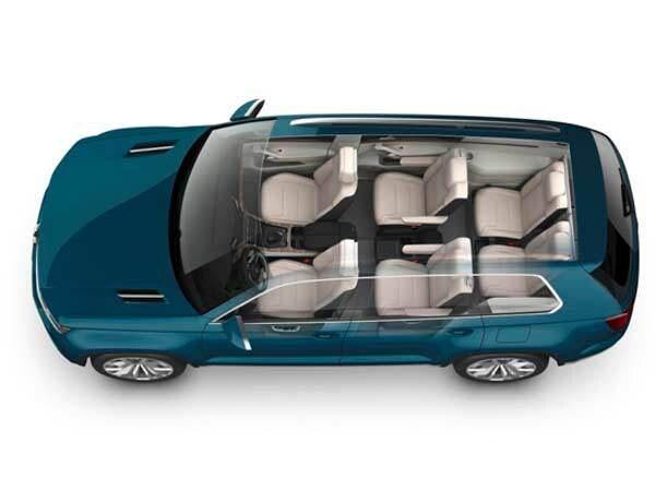 Revealed: Volkswagen CrossBlue SUV Concept - Detroit 2013 ...