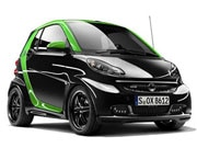 smart Brabus fortwo ED and eBike