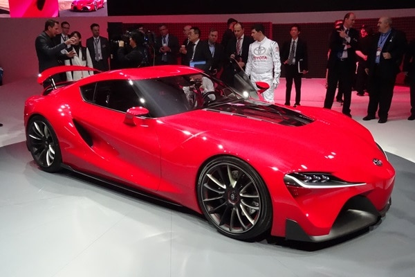 Toyota FT-1 Concept at the 2014 Detroit Auto Show