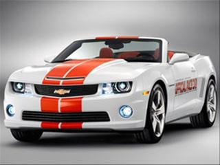 Camaro  on Camaro Ss Convertible Will Pace This Year S Indy 500   Kelley Blue