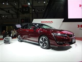Honda Clarity Fuel Cell Vehicle bows
