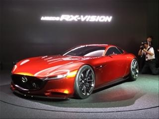 Mazda RX-Vision Concept: Return of the Rotary