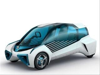 Toyota FCV Plus Concept is on a power-sharing mission