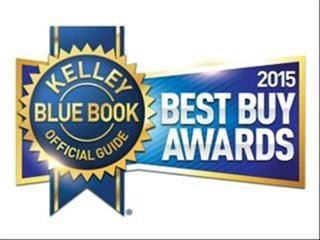 Kelley Blue Book Best Buy Awards of 2015
