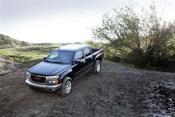 10 Cars Waving Goodbye in 2012 - 2012 GMC Canyon Crew Cab