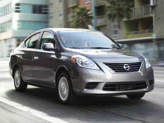 10 Best Back-to-School Cars of 2012 - 2012 Nissan Versa