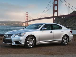 Familiar Cars with New Looks for 2013 - 2013 Lexus LS