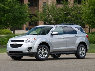 10 Most Fuel-efficient SUVs and Crossovers - 2012 Chevrolet Equinox