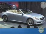 2009 Infiniti G37 Convertible News Video Photo