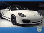 Porsche Boxster Spyder LA Auto Show Video Photo