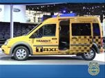 Ford Transit Connect Taxi Chicago Show