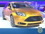 2012 Ford Focus ST and Electric- Auto Show Photo