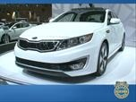 2011 Kia Optima Hybrid - LA Auto Show Photo