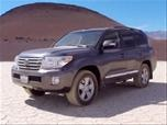 Toyota Land Cruiser Review Photo