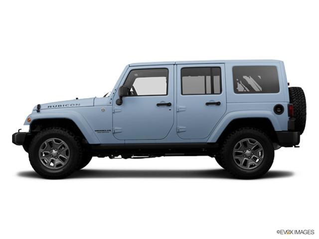 Photos and Videos: 2014 Jeep Wrangler Convertible Colors - Kelley Blue