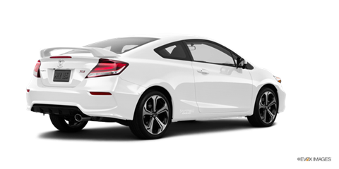 Honda civic si 2015 white coupe for Price of honda civic 2015