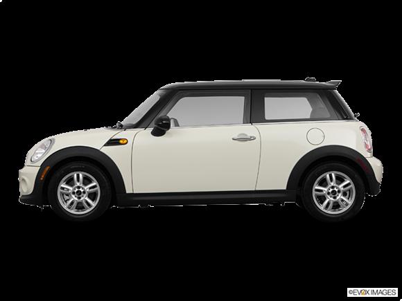 Mini Cooper Side. 2011 MINI Cooper