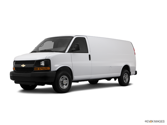 2012 Chevrolet Express 2500 Cargo Diesel Extended Photo