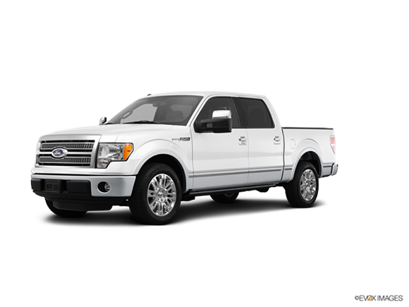 2012 Ford F150 SuperCrew Cab Platinum  Photo