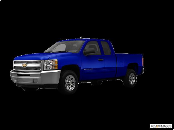2014 Chevrolet Silverado 1500 Crew Cab Kelley Blue Book